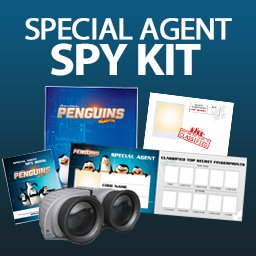 Special Agent Spy Kit - Penguins of Madagascar