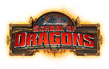School of Dragons Logo - How to Train Your Dragon