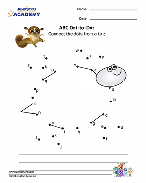 Free printable kindergarten abc worksheets