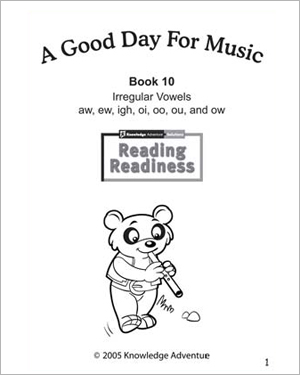 A Good Day for Music - Free Reading Activity for Kids
