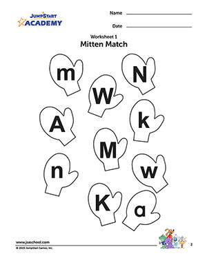 Alphabet Recognition Worksheets – Free English Worksheets for Kids ...