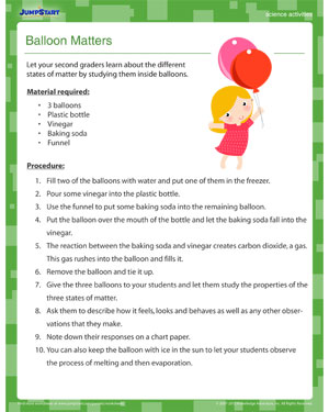 Balloon Matters - Fun Science Activity for Kids