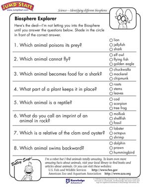 Printables Science Worksheets For 6th Graders fun 6th grade math worksheets for teachers biosphere explorer 3rd science jumpstart