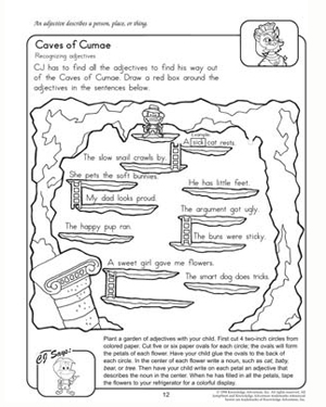 Caves of Cumae - Free 2nd Grade English worksheet