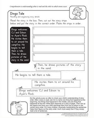 Printables Comprehension Worksheets 2nd Grade dingo tale free and printable reading comprehension tale