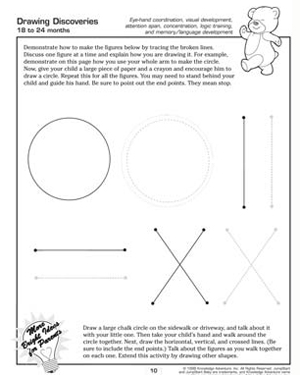 drawing discoveries fun activity for toddlers - Toddler Activities Printables