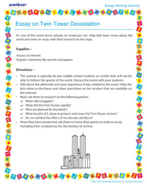 essay on twin tower devastation essay writing activity for  essay on twin towers devastation