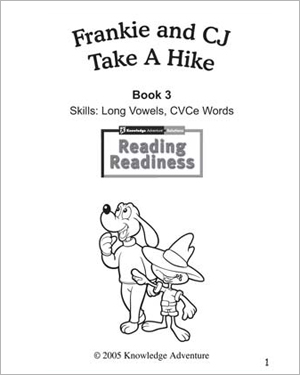 Frankie and CJ Take a Hike - Reading & Coloring Activity