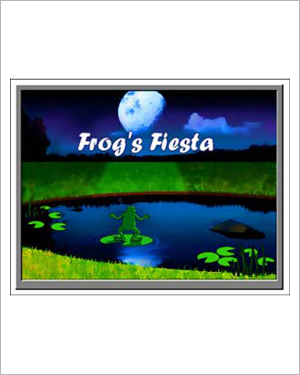 Frog's Fiesta - Free Reading Worksheet for Kids