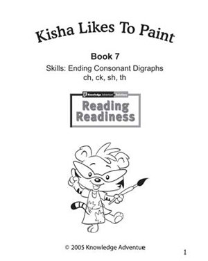 Kisha Likes To Paint – Free, Fun and Printable Short Stories for ...
