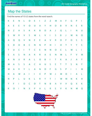 Worksheet Printable Geography Worksheets map the states free geography printable worksheet for kids kids
