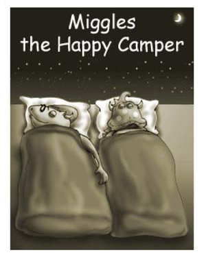 Miggles the Happy Camper - Free Reading Activity for Kids
