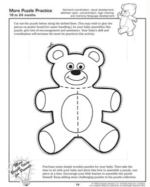 more puzzle practice free critical thinking worksheet for kids - Toddler Activities Printables