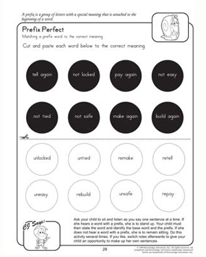 Prefix Perfect - 2nd Grade English Worksheet