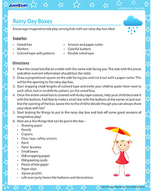 Essay On Rainy Day For Kids
