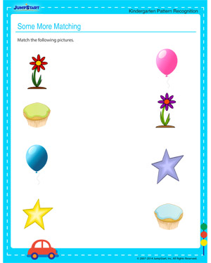 Some More Matching - Free printable worksheet