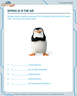 Spring is in the Air - English Worksheet