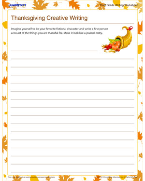 math worksheet : thanksgiving creative writing  free composition worksheets for  : Thanksgiving Multiplication Worksheet