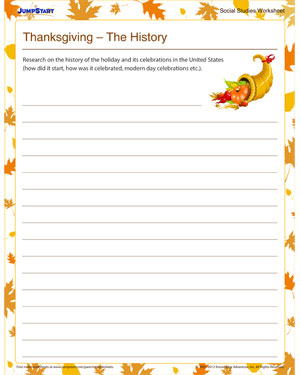 thanksgiving the history 5th grade resource jumpstart. Black Bedroom Furniture Sets. Home Design Ideas