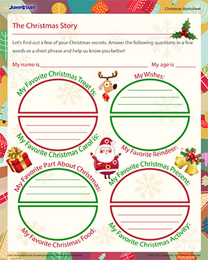 The Christmas Story - Download the Christmas Worksheet