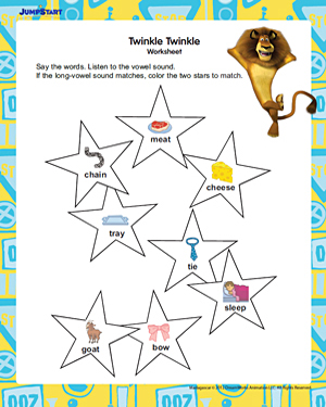 Twinkle, Twinkle - Free English Activity for Kids