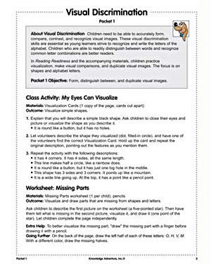 Visual Discrimination - Free, Easy Critical Thinking Activity and Worksheet