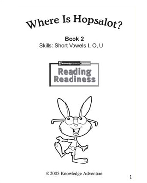 'Where Is Hopsalot?' - Free Reading Activity for Kids