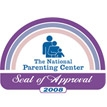 National Parenting Seal of Approval - 2008 Winner