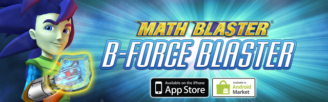 Math Blaster B-Force Blaster