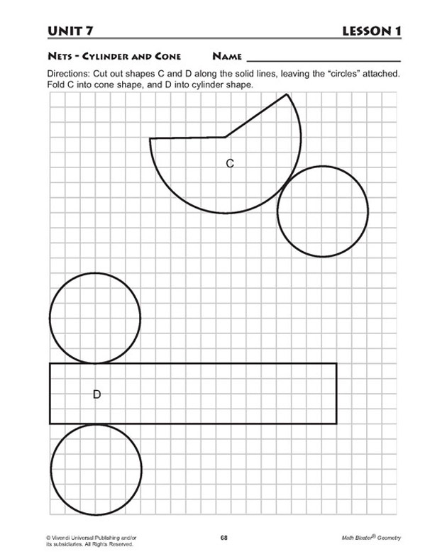 This is a picture of Epic Cylinder Net Printable