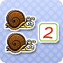 Add the Slow Snails – Free Kindergarten Grade Addition Worksheet - Math Blaster