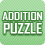 Addition Puzzle – Fun Math Worksheet for Kids -Math Blaster