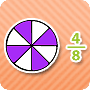 Fractions Review – 1 – Free Worksheet to Teach Fractions - Math Blaster