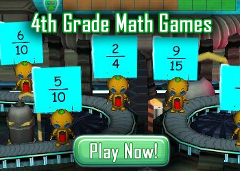 4th Grade Math Games - Play Fun Math Games Online