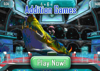 Addition Games - Play Fun Math Games Online