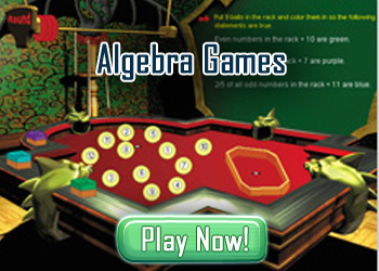 Algebra Games for Kids