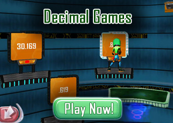 Decimal Games for Kids