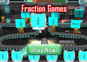 Fraction Games for Kids