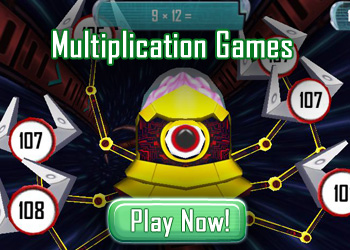 Multiplication Games - Free Math Games Online