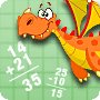 Math and the Dragon – Fun Math Worksheet for First Grade - Math Blaster
