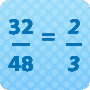 Reducing Fractions – Free Math Worksheet Online - Math Blaster