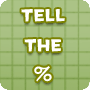 Tell the Percentage – Free Math Worksheet Online - Math Blaster
