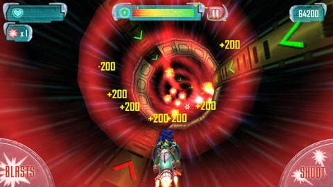 MathBlaster HyperBlast - Mobile Game