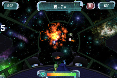 MathBlaster Space Zapper - Mobile Game