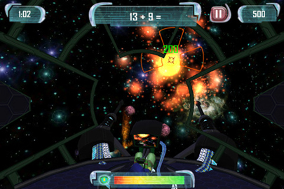 MathBlaster Space Zapper - Mobile Games