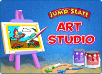 JumpStart Art Studio - Mobile App for Preschoolers