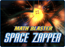 Math Blaster Space Zapper