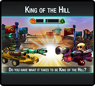 King of the Hill - Cool 3D Racing Game for Kids - Eat My Dust