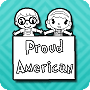Are you a Proud American? - Fourth of July Coloring Pages by JumpStart