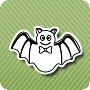 Batty Halloween - halloween coloring worksheets